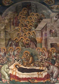 The Dormition of the Most Holy Mother of God Peribleptos, Ohrid